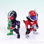 [レビュー]CONVERGE KAMEN RIDER3 コンバージ 仮面ライダー3 ダブル アクセル ドライブ