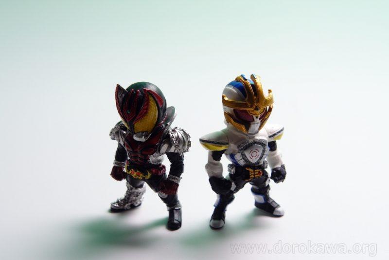 [レビュー]CONVERGE KAMEN RIDER4 コンバージ 仮面ライダー4 キバ イクサ